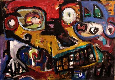 Parmis Sayous, 'The coloured skull', 2011