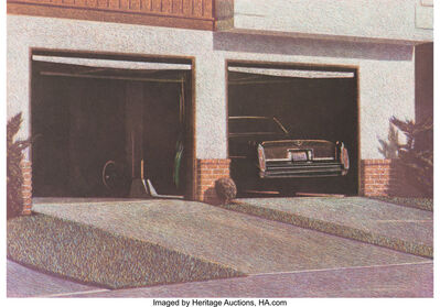 Robert Bechtle, 'Sunset Cadillac', 1987