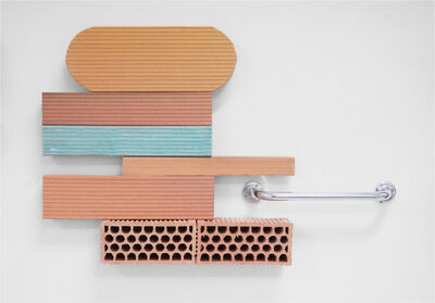 Oscar Abraham Pabon, 'Ceramic art with false railing', 2019
