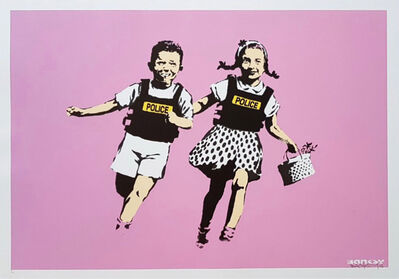 Banksy, 'Jack and Jill (Pink Artist Proof) - Signed', 2005