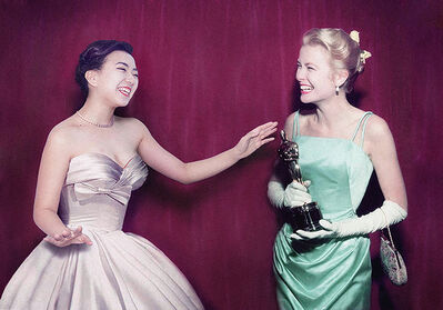 Silin Liu 刘思麟, 'Grace Kelly & Celine Liu ', 2014