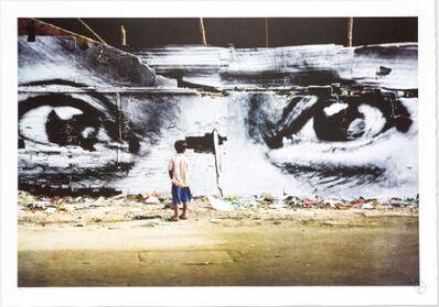JR, 'Action in Phnom Penh, Peng Panh, Cambodia '