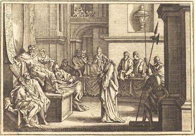 after Sébastien Le Clerc I, 'Christ before Herod'