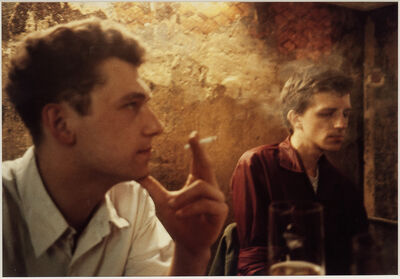 Nan Goldin, 'Dieter and Wolfgang at the O-Bar, West Berlin', 1984