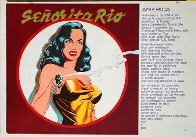 Mel Ramos, 'Senorita Rio (from One Cent Life)', 1964