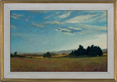 Howard Schroedter, 'Landscape Near Amherst', 1987