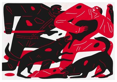Cleon Peterson, 'The Runner', 2018