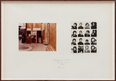 Franco Vaccari, 'Photomatic d'Italia (Roma)', 1973