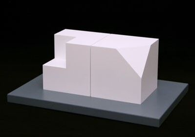 Sol LeWitt, 'Cube Without a Corner and Cube Without a Cube', 2005