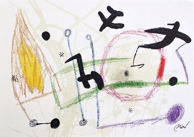 Joan Miró, 'Maravilla 5', 1975