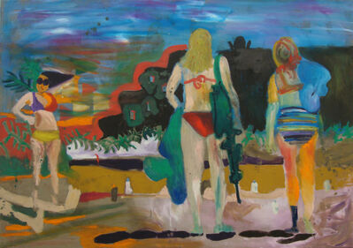 Tanja Ritterbex, 'How do I turn sunburn into tan', 2015