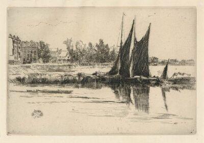 James Abbott McNeill Whistler, 'HURLINGHAM (K. 181; G. 184)', 1879