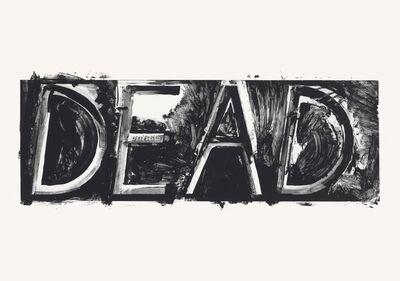 Bruce Nauman, 'Dead', 1975