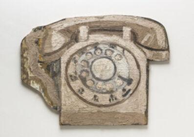 Mary Ann Aitken, 'Untitled (rotary phone)', 1989
