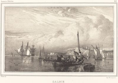 Paul Huet, 'Calm (Calme)', 1832