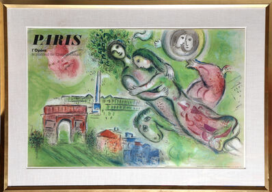 Marc Chagall, 'Paris L'Opera - Le Plafond de Chagall', 1964