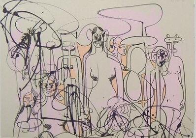 George Condo, 'Line of Figures 1', 2001