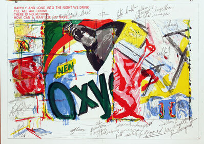 James Rosenquist, 'Oxy, One Cent Life', 1964