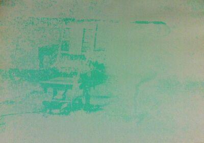 Andy Warhol, 'Electric Chair (FS II.80)', 1971