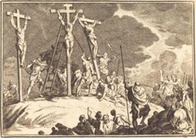 after Sébastien Le Clerc I, 'Piercing of Christ's Side'