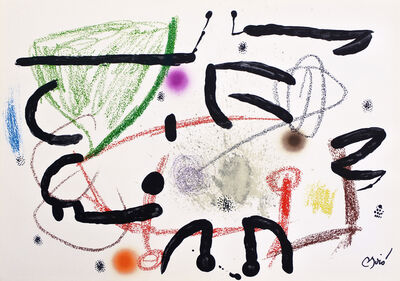 Joan Miró, 'Maravilla 15', 1975
