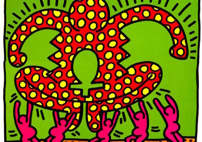 Keith Haring, 'Fertility  Plate 5', 1983