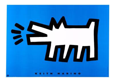 Keith Haring, 'Barking Dog'