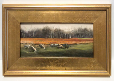 Judy Reynolds, 'Sheep Grazing, Hudson Valley', ca. 2016