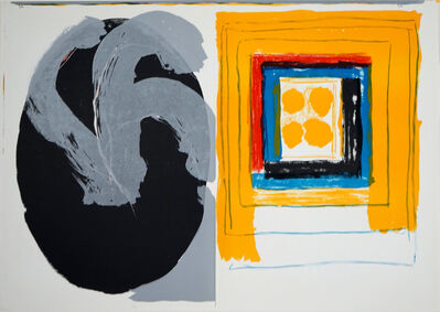 Kimber Smith, 'Untitled (Double lithograph from One Cent Life)', 1964