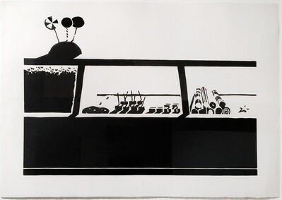 Wayne Thiebaud, 'Candy Counter (from Seven Still Lifes and a Rabbit)', 1970