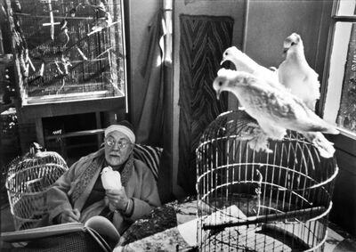 Henri Cartier-Bresson, 'Henri Matisse at his Home, 'Le Reve', Vence, France', 1944