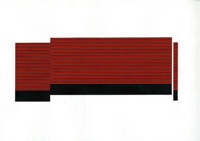 Matthew Kluber, 'Field/Terrace (Med. Orange 17)', 2016