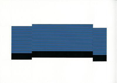 Matthew Kluber, 'Field/Terrace (Lt. Blue 17)', 2015