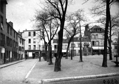 Eugène Atget, 'untitled (Place du Tertre)'