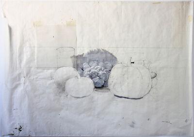 """Alberto Romero, '""""Bodegón con calabaza y coliflor""""', 2014"""