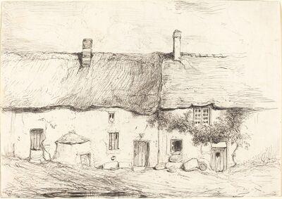 Eugène Isabey, 'Two Cottages', ca. 1844