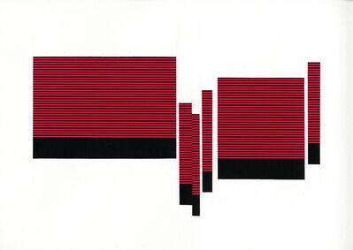 Matthew Kluber, 'Field/Terrace (Lt. Red 17)', 2016