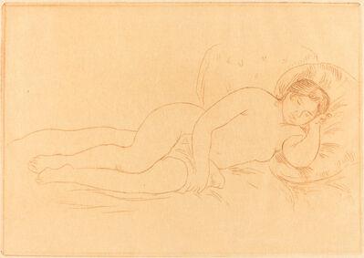 Pierre-Auguste Renoir, 'Female Nude Reclining (Femme nue couchee)', 1906