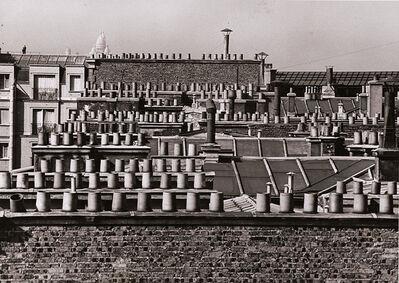 André Kertész, 'Chimneys of Paris', 1929 / 1960c