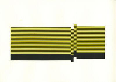 Matthew Kluber, 'Field/Terrace (Lt. Yellow 17)', 2016