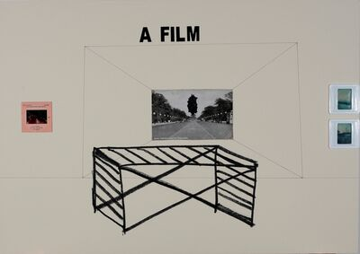 Marko Tadić, 'A Film projection', 2018