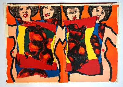 Alfred Leslie, 'Women (from One Cent Life)', 1964