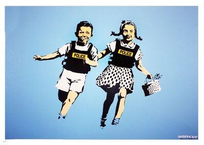 Banksy, 'Police Kids signed', 2006