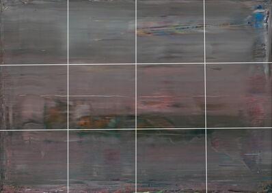 Greg Allen, 'Destroyed Richter Grid No.4  A-L (12)', 2016