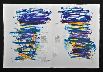 Joan Mitchell, 'Mornings on the Bridge, From Poems Portfolio', 1992