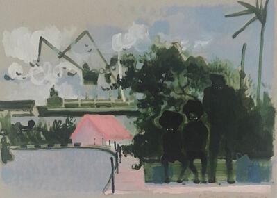 Serge Nyfeler, 'Pudelclub Hamburg', 2018