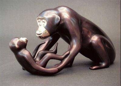 Loet Vanderveen, '#489, Chimp and Baby'