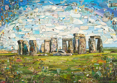 Vik Muniz, 'Postcards from Nowhere: Stonehenge', 2015