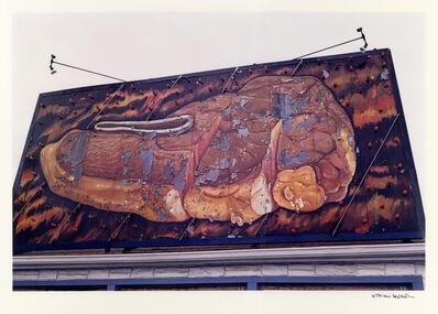 William Eggleston, 'Untitled (Steak Billboard), Memphis, TN, 1973 ', 1973
