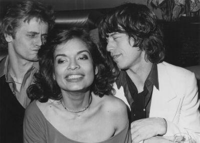 Eric Kroll, 'Bianca Jagger, Barushnikov and Mick Jagger at Bianca's NYC birthday party', 1977